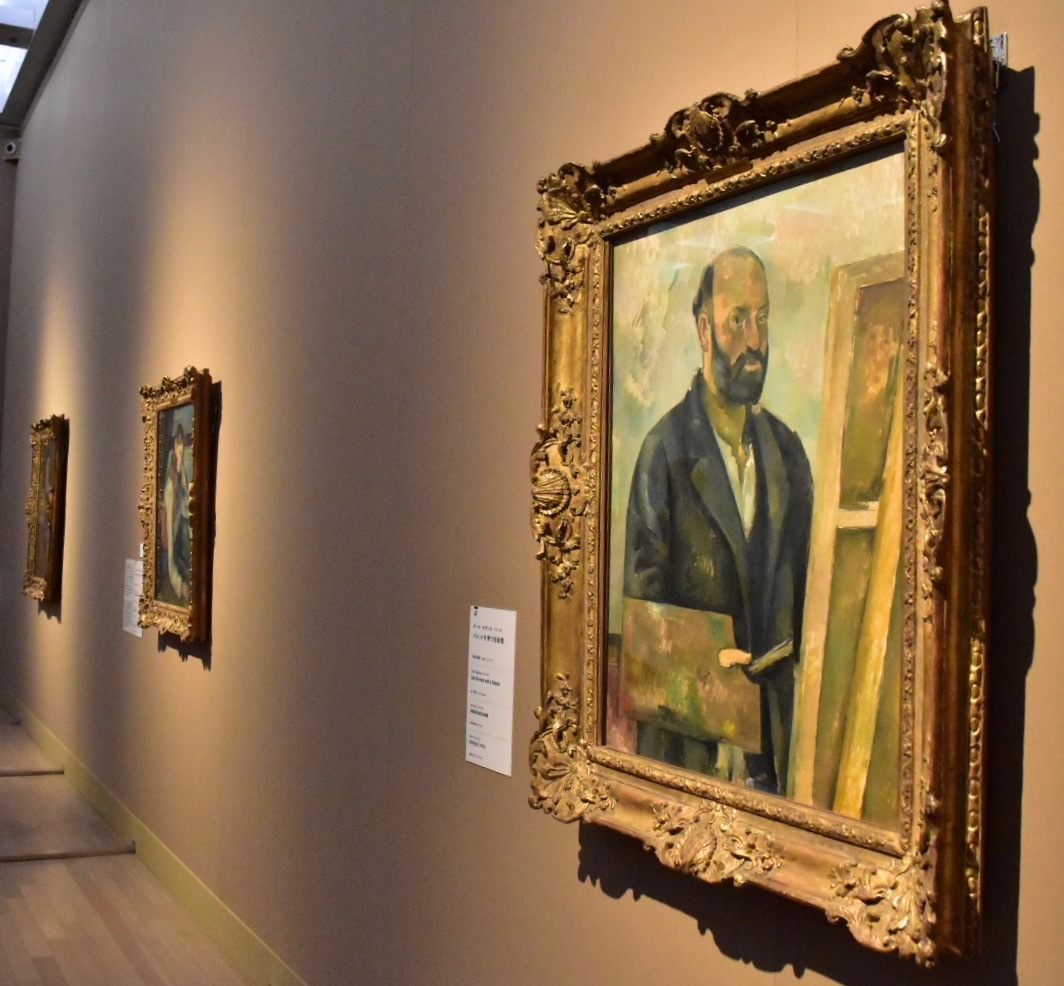 ポール・セザンヌ 《パレットを持つ自画像》1890年頃