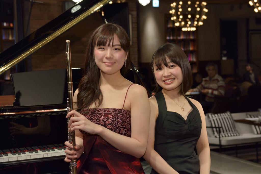 竹山愛(フルート)&小澤佳永(ピアノ)