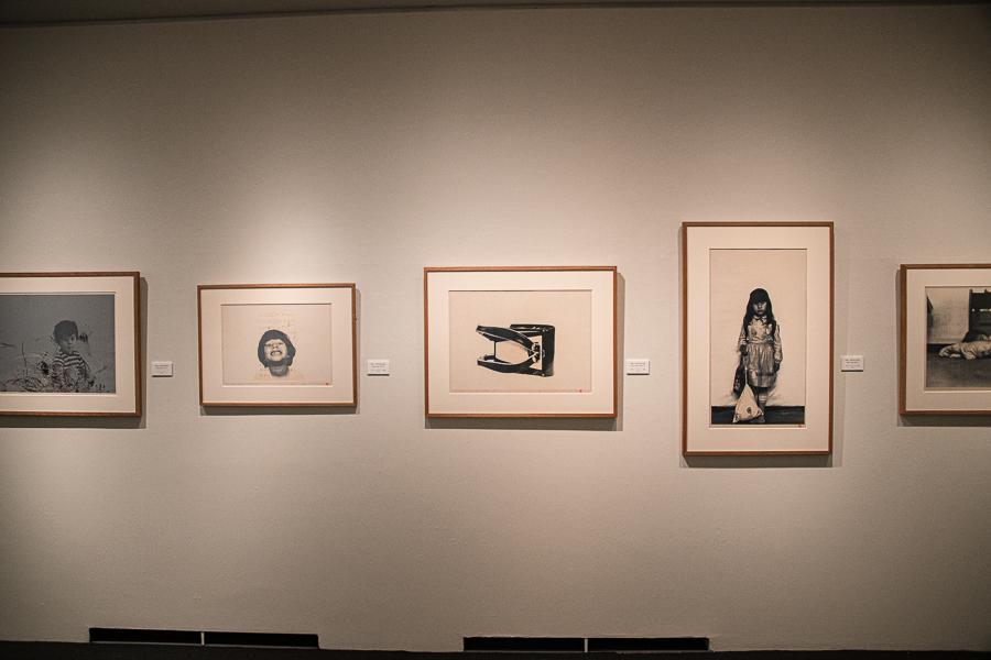 野田哲也《日記》シリーズ展示風景  ※現在後期展示中のため、これらの作品は現在展示されていません。