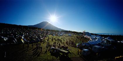 世界文化遺産と音楽に抱かれ眠るキャンプイン・フェス『朝霧 JAM』