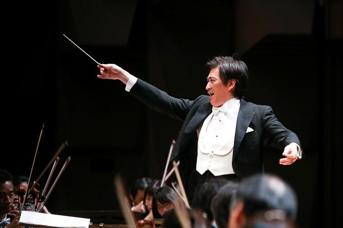 首席指揮者:藤岡幸夫 写真提供:大阪国際フェスティバル(C)森口ミツル
