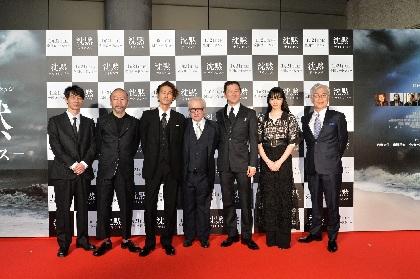 小松菜奈19歳当時の演技をマーティン・スコセッシ監督が称賛「本当に素晴らしく、驚かされた」『沈黙−サイレンス−』レッドカーペット