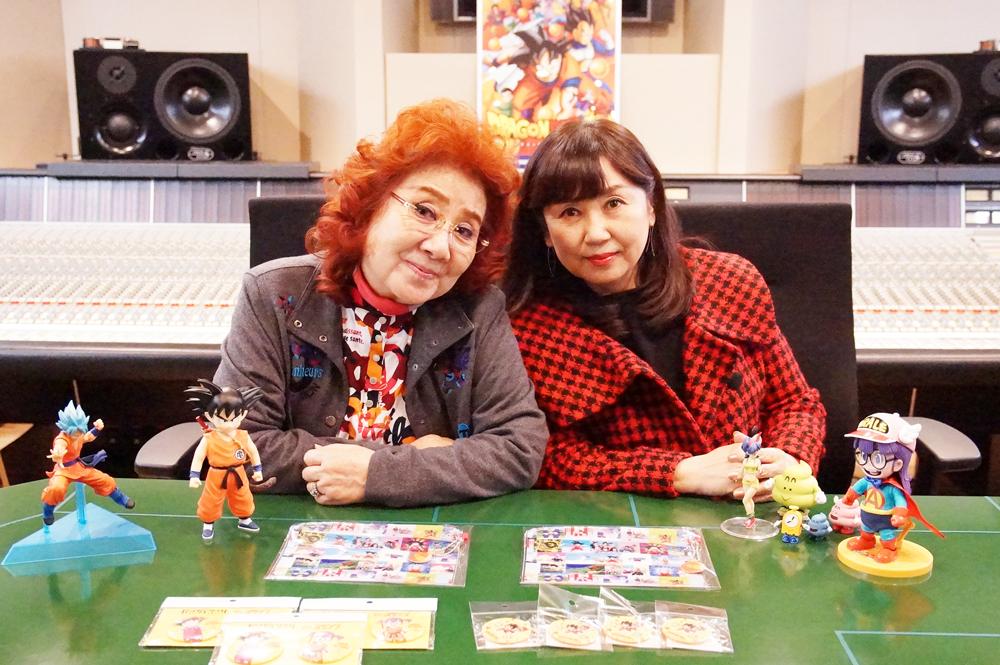 左から、野沢雅子、小山茉美