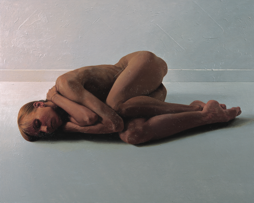 野田弘志《 聖なるもの THE-Ⅱ》2011年 ホキ美術館蔵