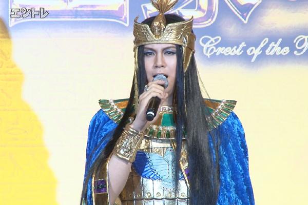 ミュージカル「王家の紋章」 劇中歌を披露する浦井健治