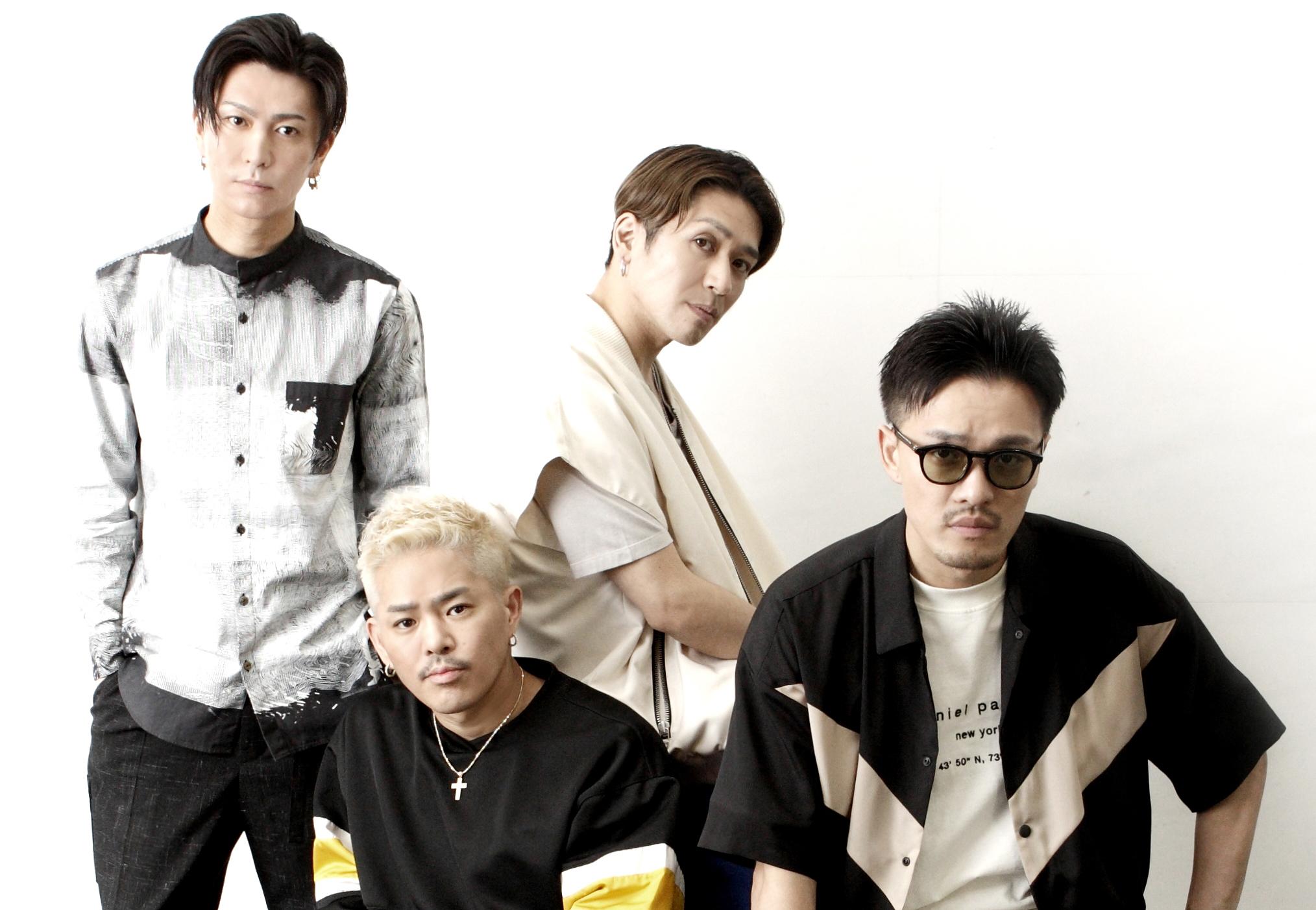DEEP(L⇒R:RYO、YUICHIRO、TAKA、KEISEI) 撮影=北岡一浩