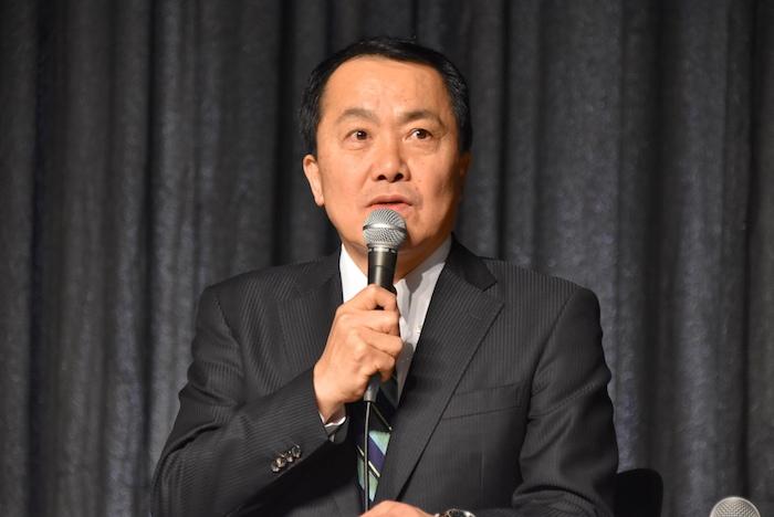 宝塚歌劇団の小川友次理事長