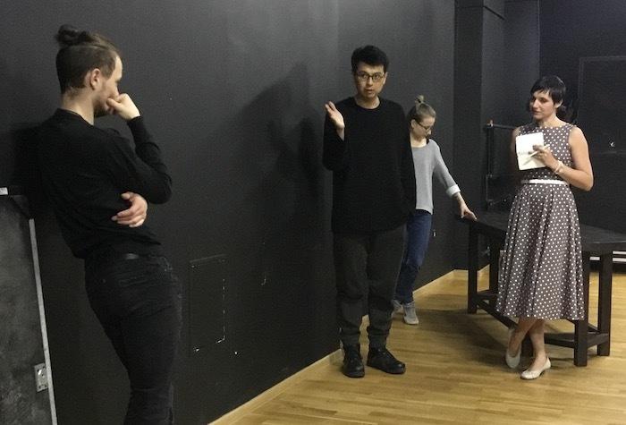 三浦基は、ボリショイ・ドラマ劇場で演出家養成のためのマスタークラス講師として招聘された。 提供:地点
