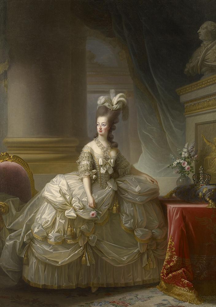 マリー・ルイーズ・エリザベト・ヴィジェ=ルブラン 《フランス王妃マリー・アントワネットの肖像》 1778年 油彩/カンヴァス ウィーン美術史美術館 Kunsthistorisches Museum, Wien