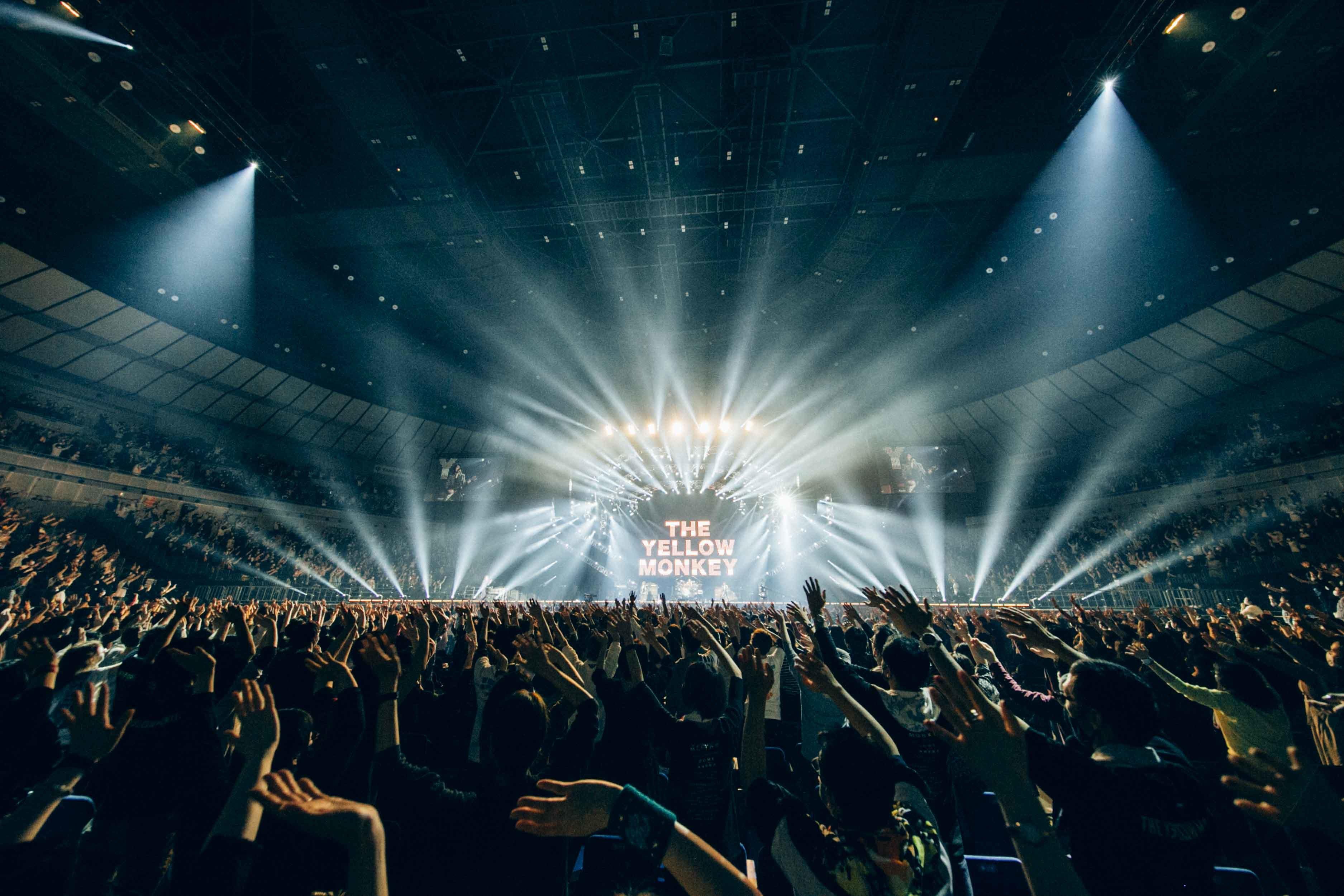 THE YELLOW MONKEY『30th Anniversary LIVE -YOKOHAMA SPECIAL-』 Photo by 横山マサト