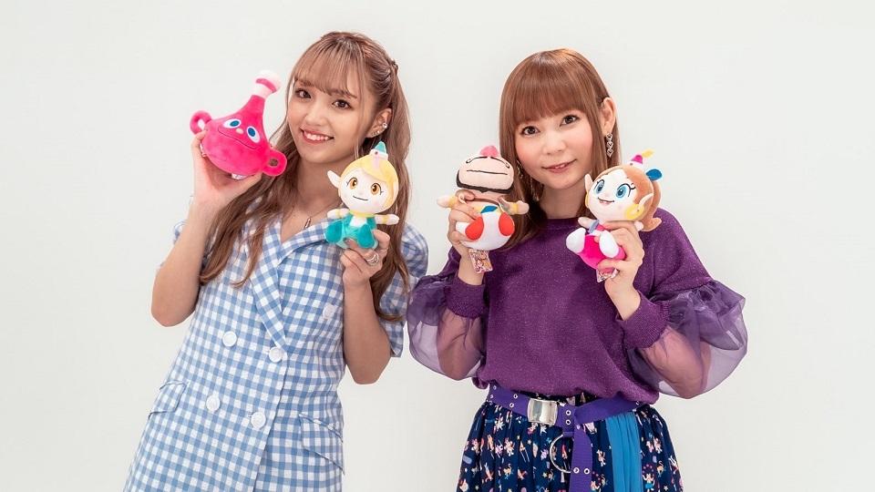 しょこたん×ねお 2ショット (C)タツノコプロ・読売テレビ