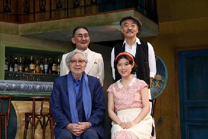 会見で今井翼がフラメンコを披露し、拍手喝采! 名匠・山田洋次が作・演出を手掛けた音楽劇『マリウス』