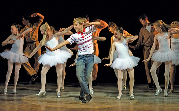 Pictures from the London cast of Billy Elliot the Musical