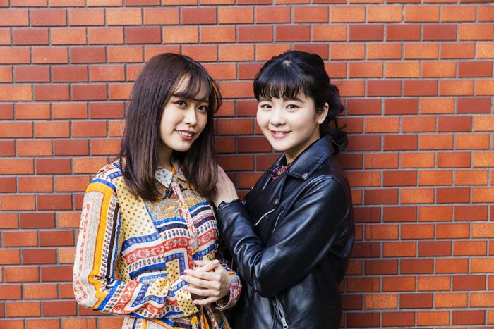 (左から)林 愛夏、田村芽実