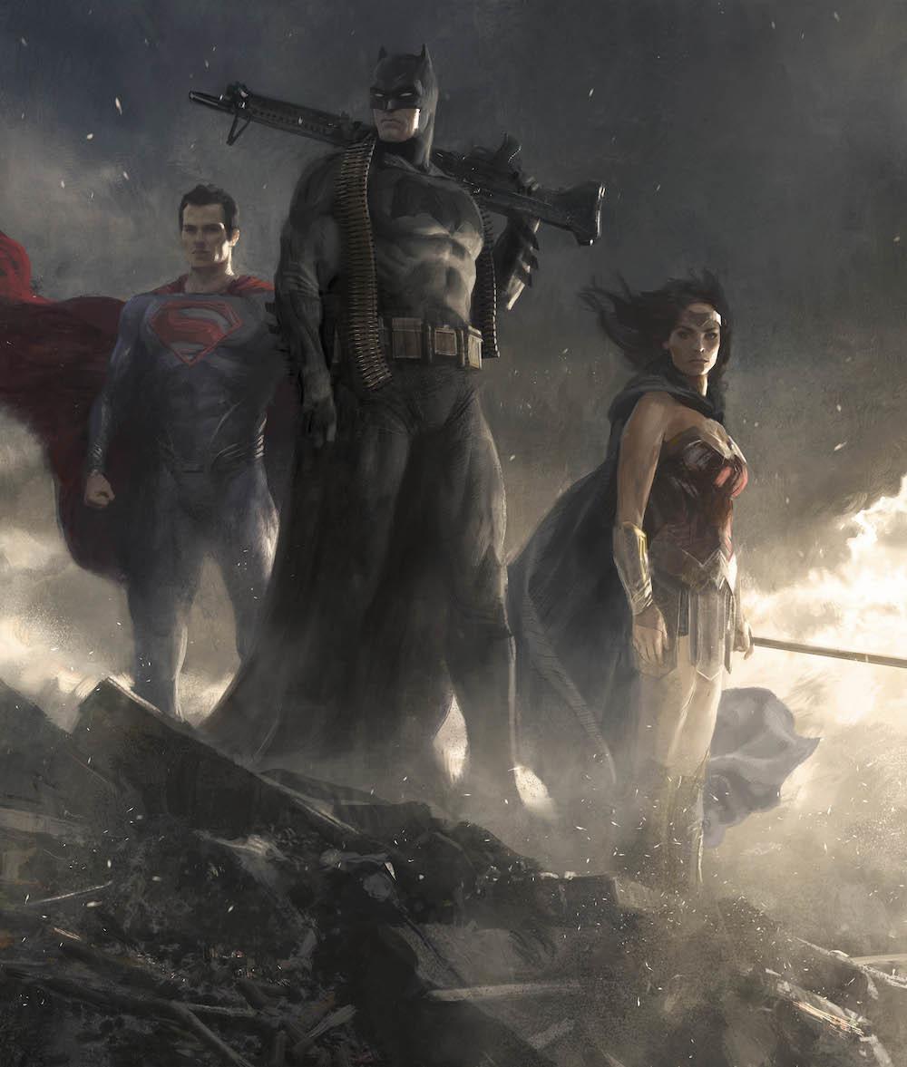 BatmanVSuperman Dawn of Justice 2016 Superman Batman Wonder Woman Artist Jaime Jones  BATMANVSUPERMAN and all related characters and elements (C) & TMDC&WBEI (s21)