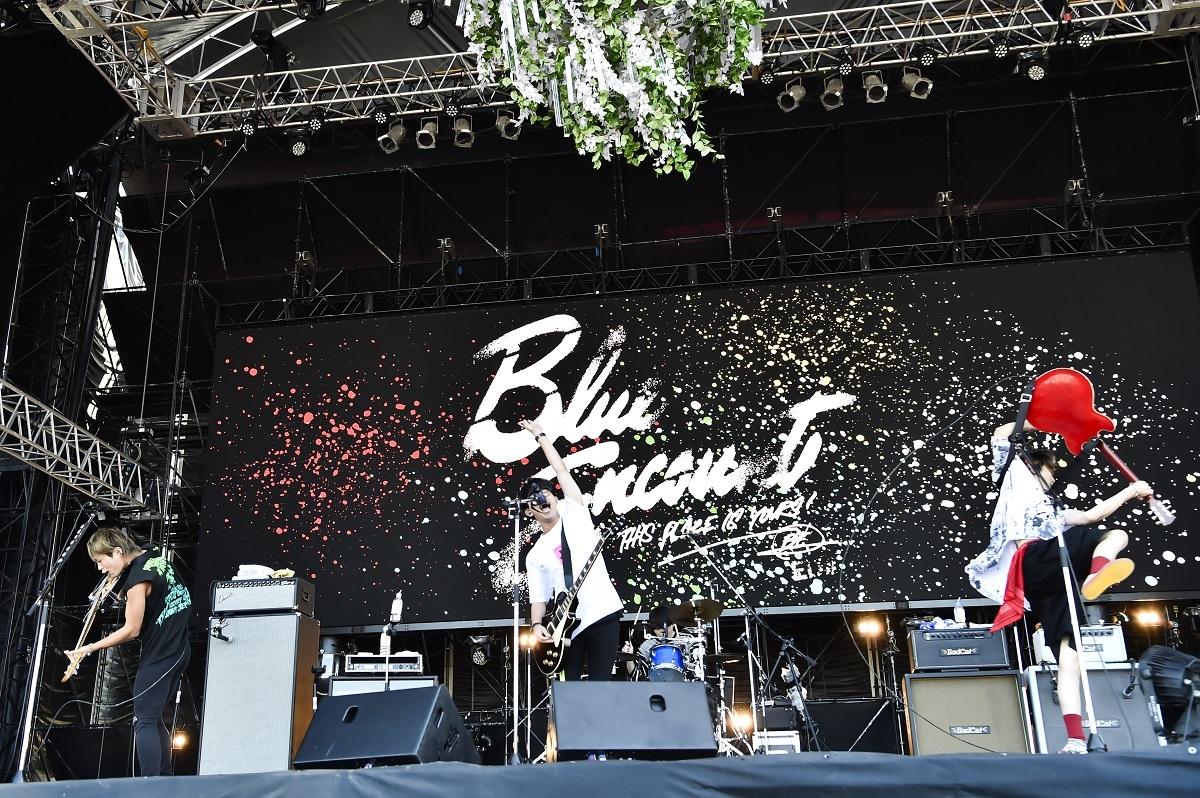 BLUE ENCOUNT 撮影=AZUSA TAKADA