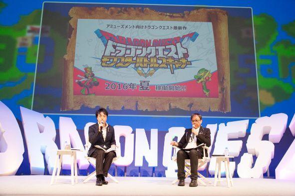 「ドラゴンクエストモンスターバトルスキャナー」の稼働時期も発表