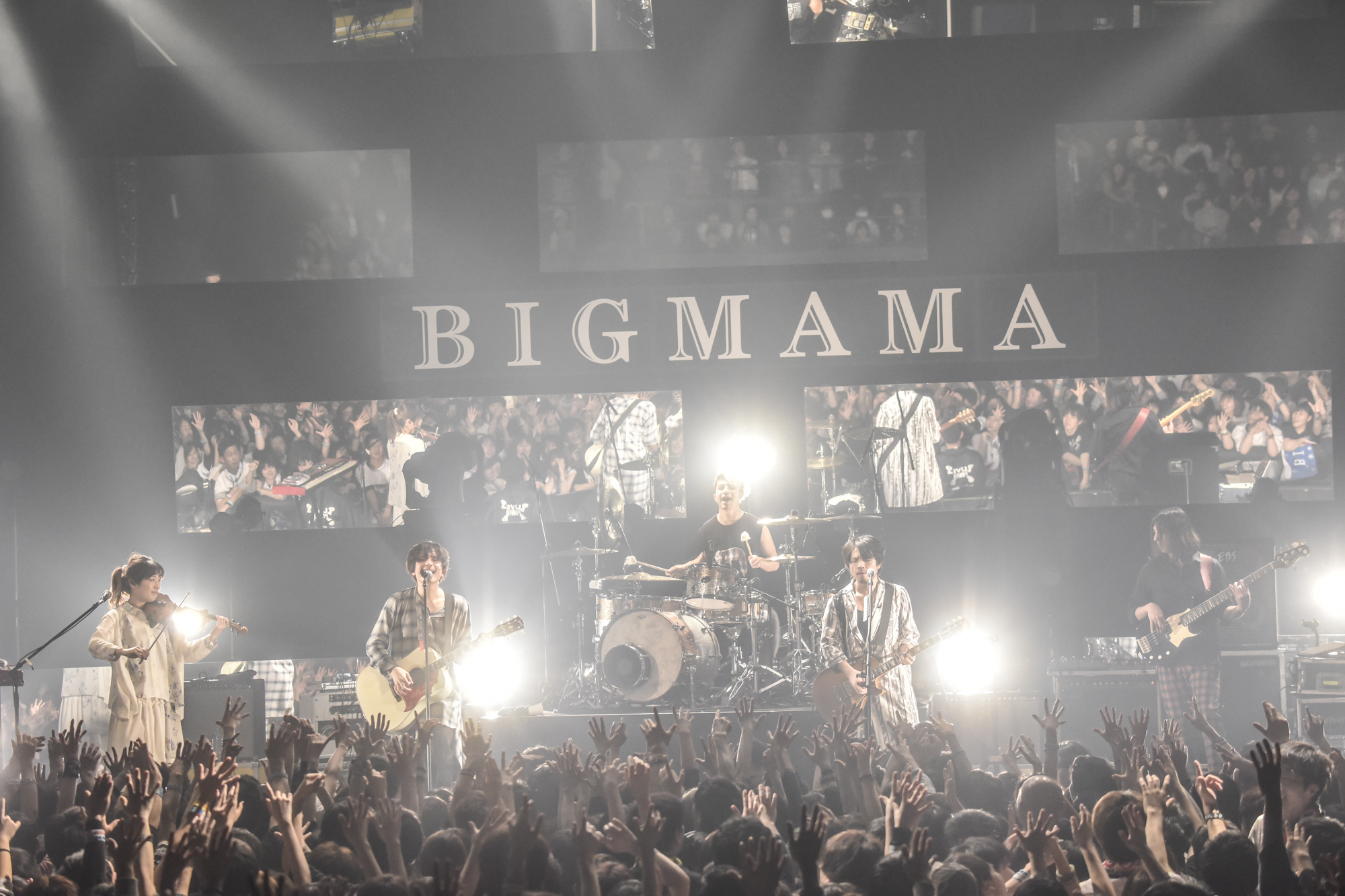 BIGMAMA 撮影=高田梓
