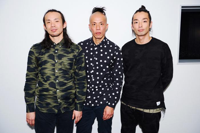 (左から)平原慎太郎、大植真太郎、森山未來