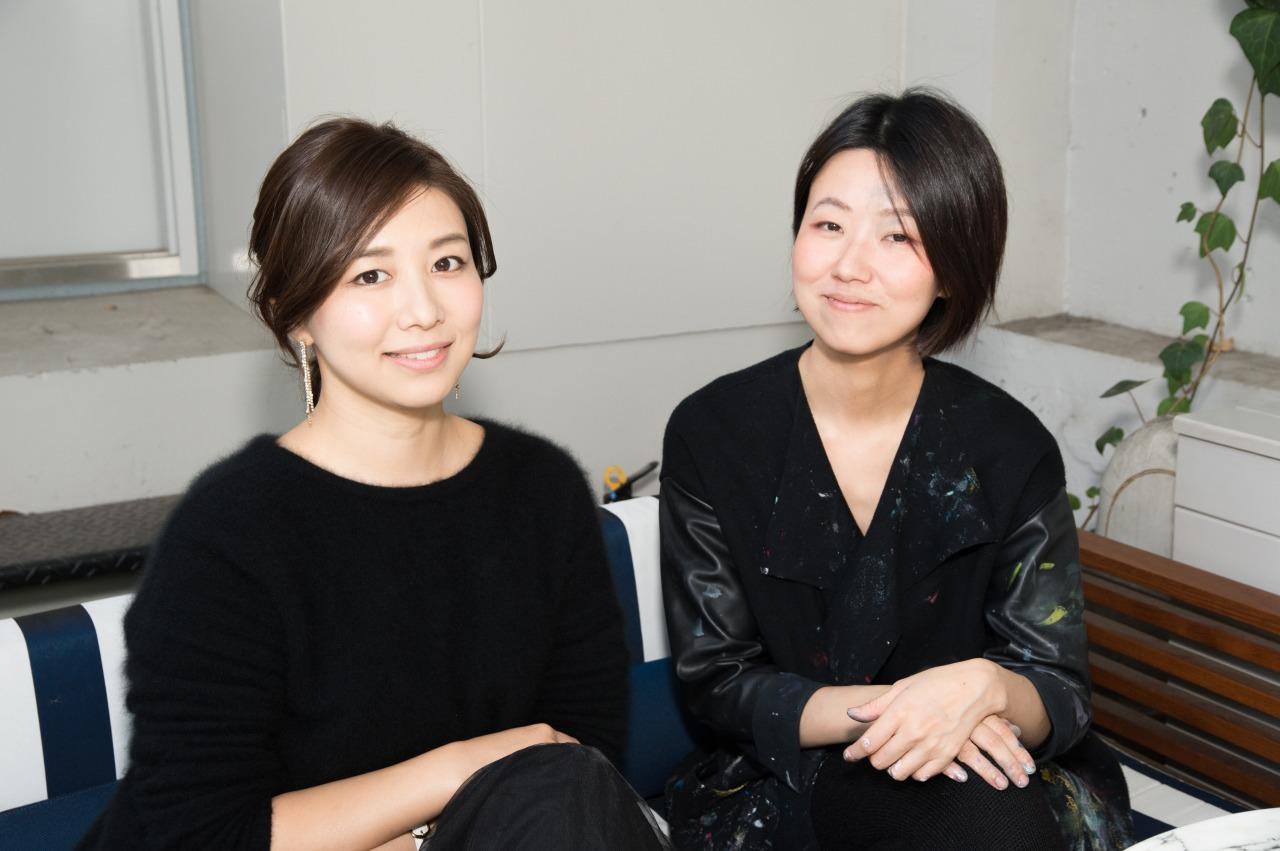 松田理奈、中山晃子