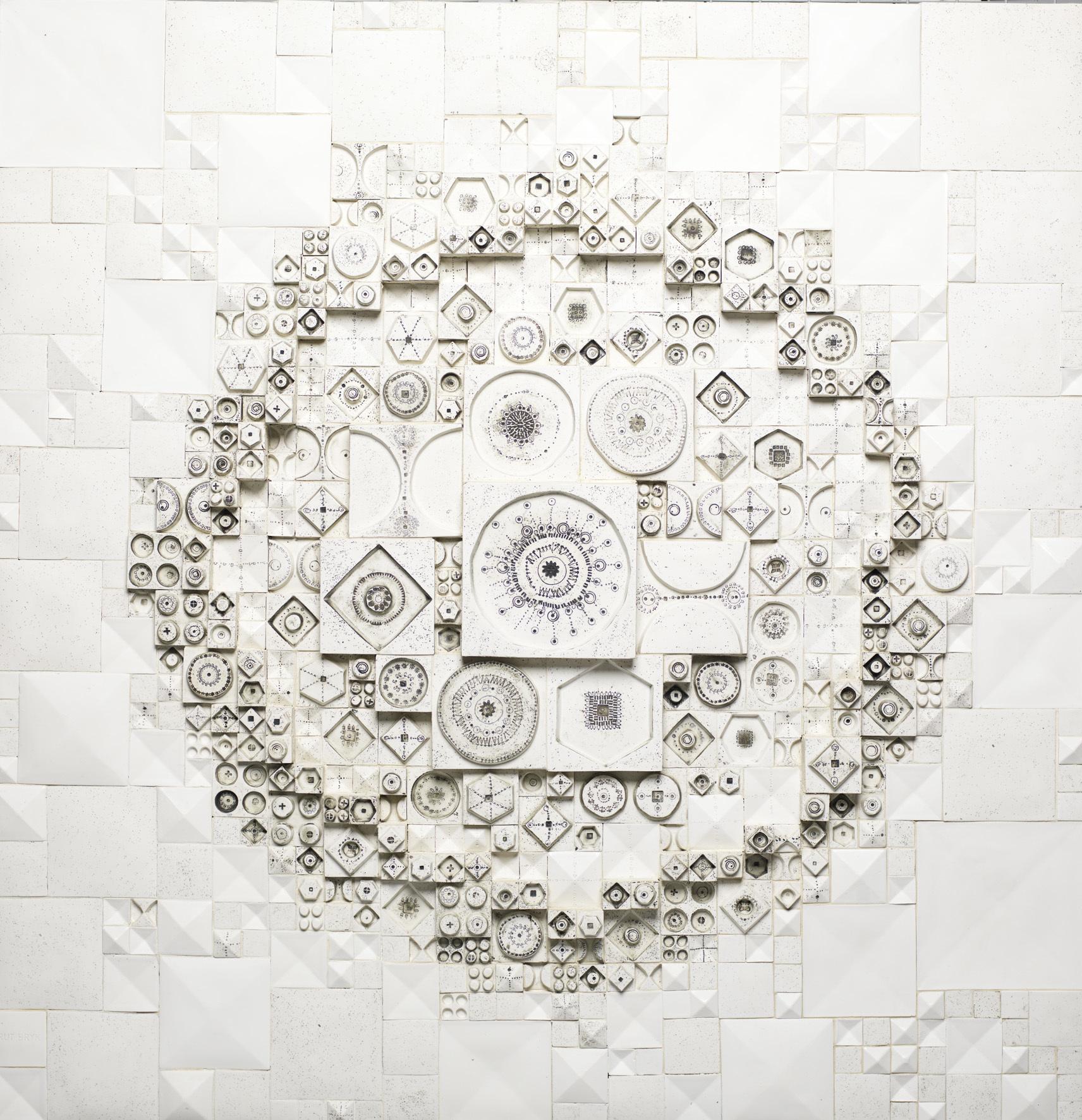 《色づいた太陽》1969年、タピオ・ヴィルカラ ルート・ブリュック財団蔵 Tapio Wirkkala Rut Bryk Foundation's Collection / EMMA – Espoo Museum of Modern Art  (C)KUVASTO, Helsinki & JASPAR, Tokyo, 2018 C2531