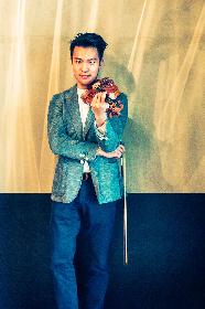 ヴァイオリンの貴公子レイ・チェンにインタビュー