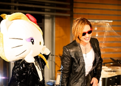 "YOSHIKI×ハローキティ""yoshikitty""が2018年サンリオキャラクター大賞で自己最高3位に躍進 中国、イタリア、ドイツ、フランスでは1位"