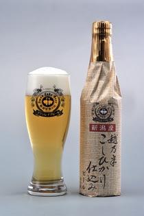 """越乃米こしひかり仕込み""""スワンレイクビール(新潟)"""""""