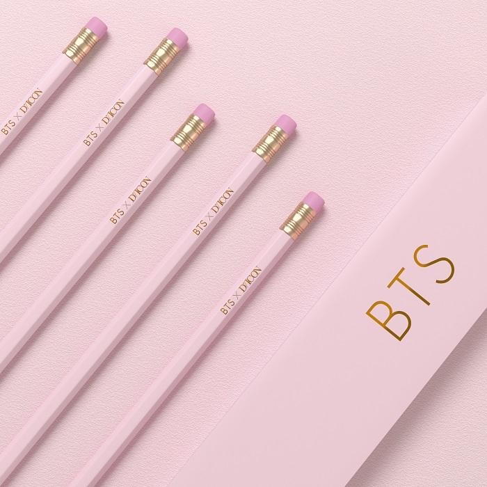 DiconのJAPAN EDITIONのために特別に製作された高級仕様の鉛筆セット