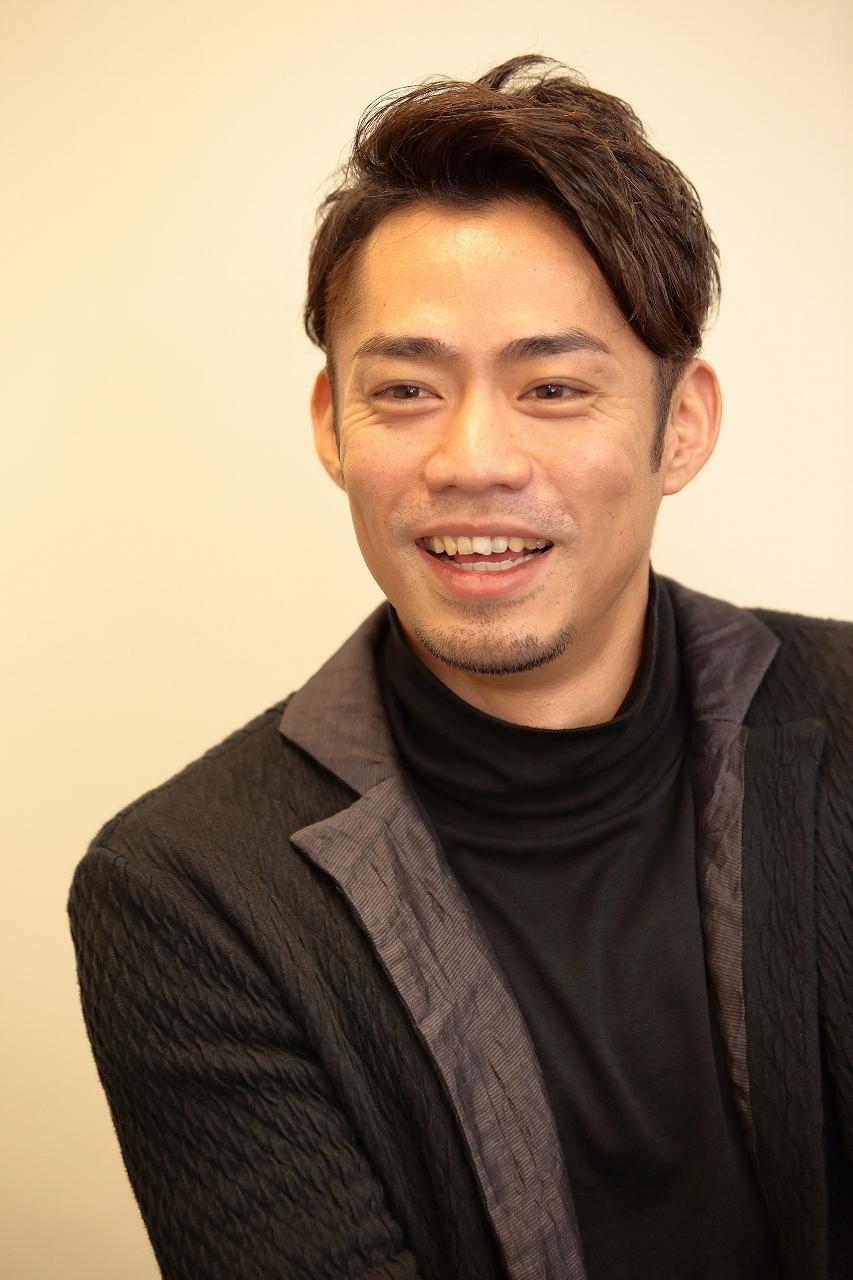 「クリスマス オン アイス」への意気込みを語る髙橋大輔さん