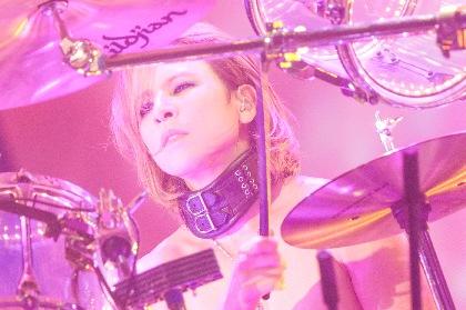 """X JAPAN、幕張メッセでのライブが台風の影響で公演中止に """"無観客ライブ""""をYOSHIKI CHANNELで緊急生中継"""