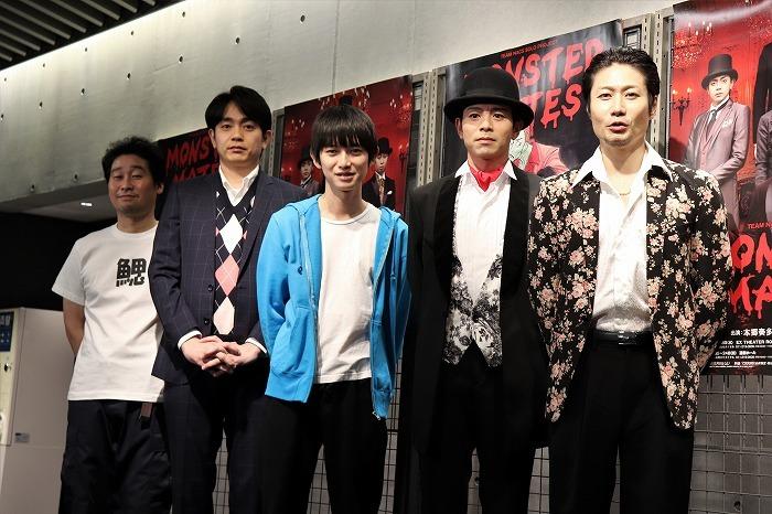 (左から)前野朋哉、青柳翔(劇団EXILE)、本郷奏多、吉沢悠、戸次重幸