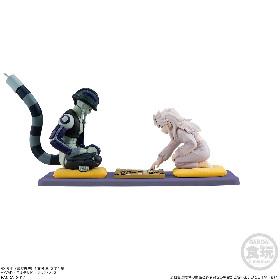 『HUNTER×HUNTER』メルエムとコムギの対局場面を立体化 コマの位置/鼻水まで再現したリアル食玩で登場