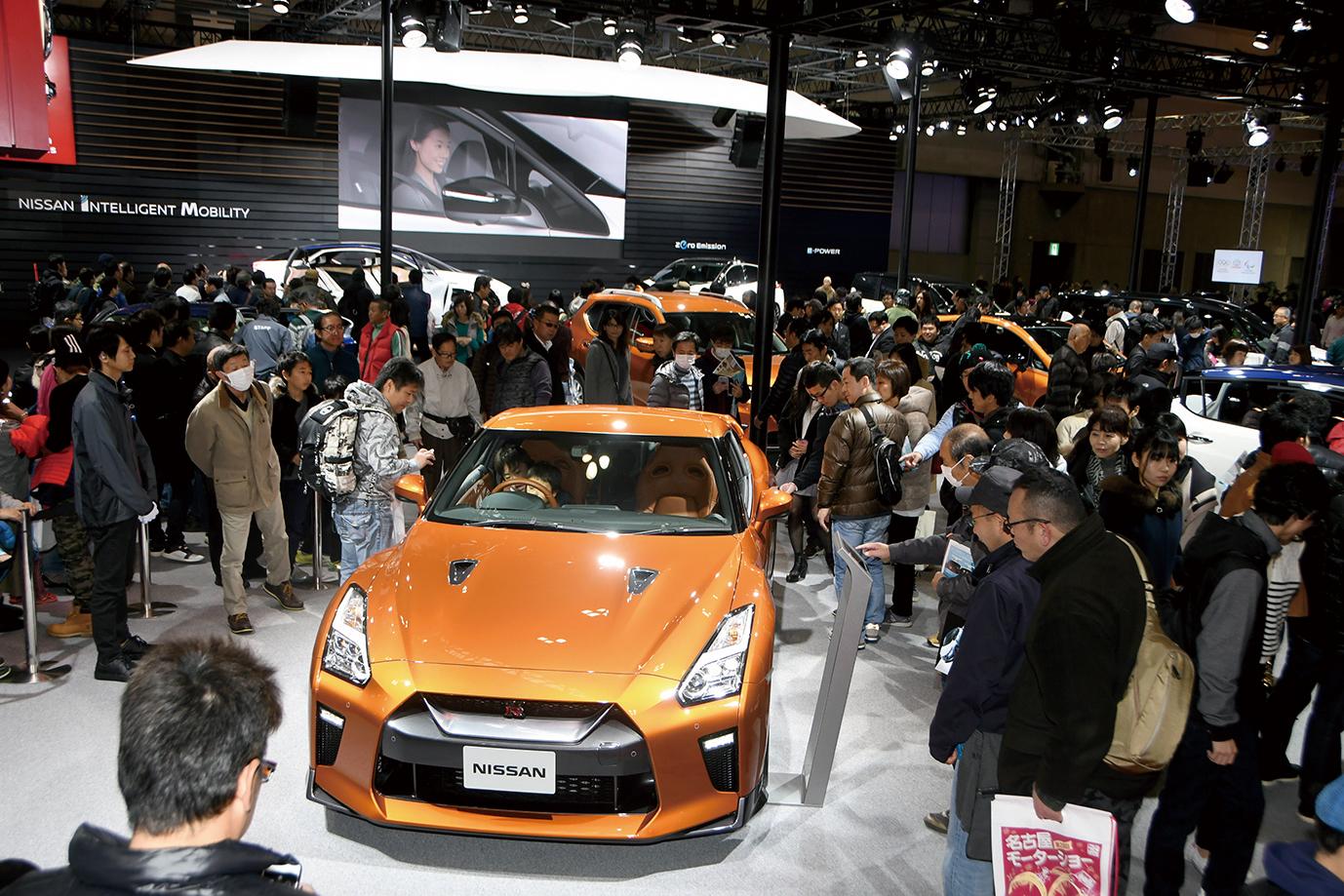 国内外の四輪・二輪車メーカーのコンセプトカーや最新市販車が勢揃い