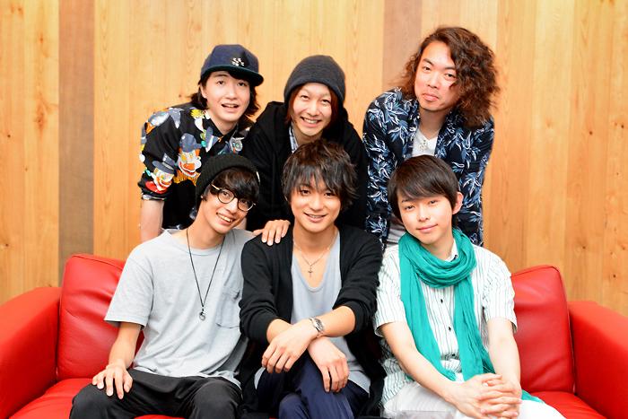 (後列左から)吉田翔吾、久下恭平、菅野臣太朗、(前列左から)栗原大河、山木透、佐藤智広