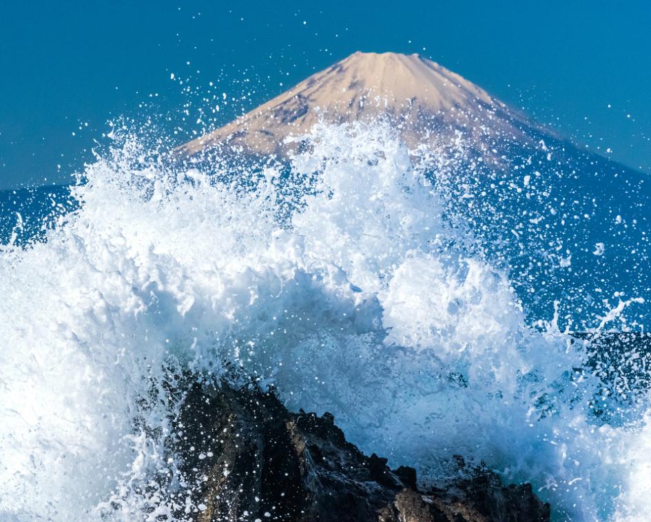 映画『HOKUSAI』フォトコンテスト 佳作「Splash!!」   kidskatsuyaさん