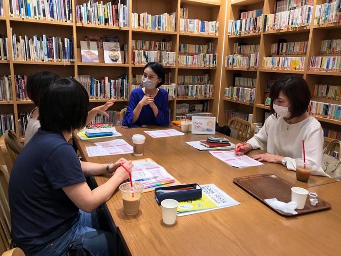 ママカフェ/コロナ後の大阪でのミニイベントより(ブックフェスタ・ジャパン2020でも実施予定)
