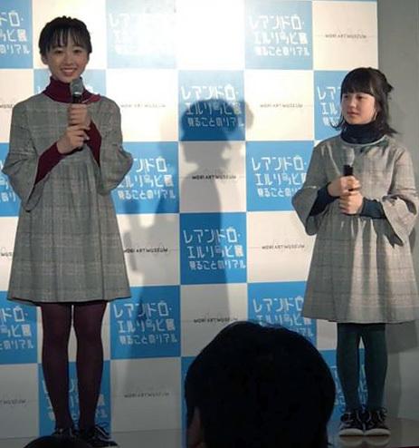 (左より)本田望結、本田紗来