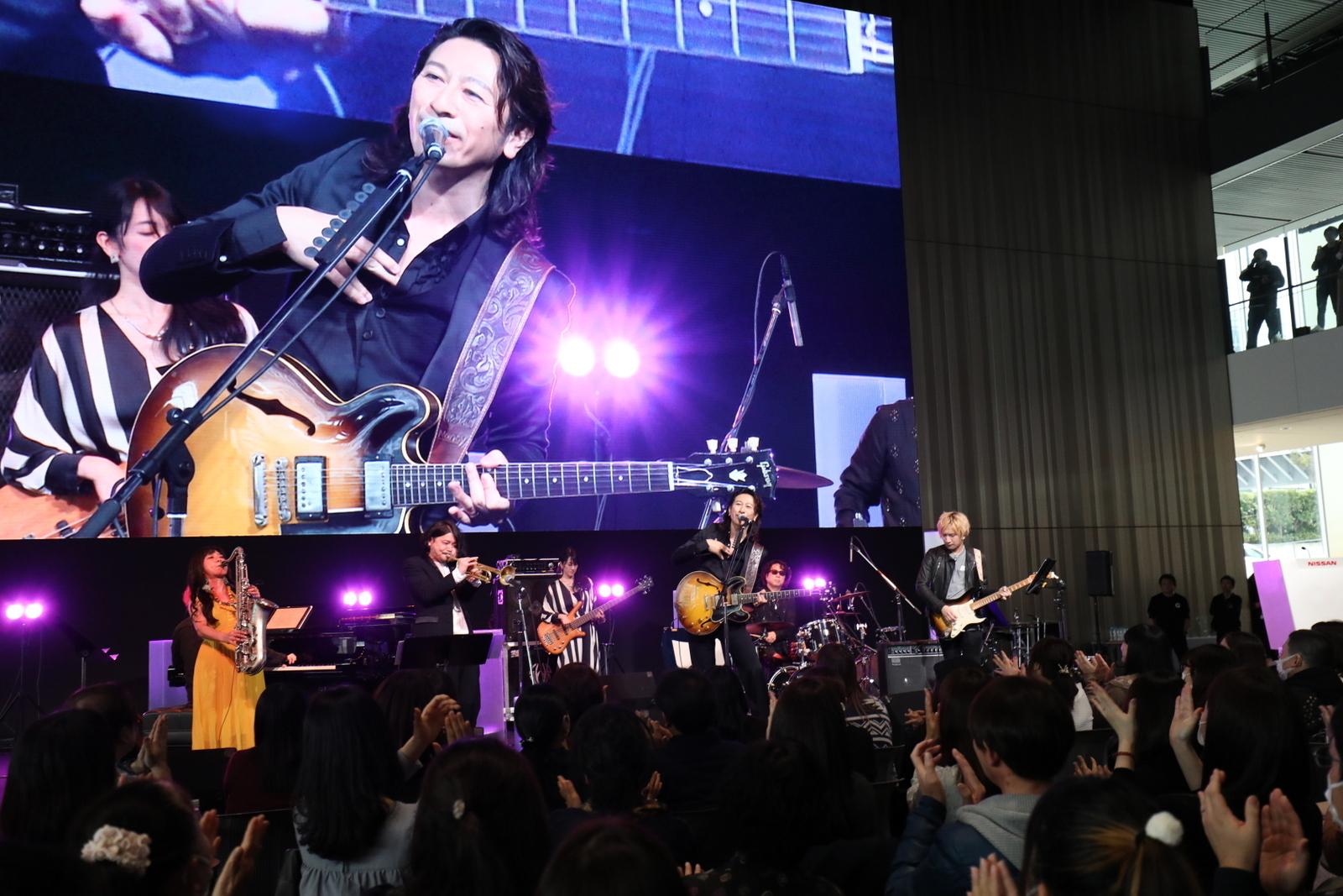 TAKURO  Photo by Shiho Yabe/Jazz Japan