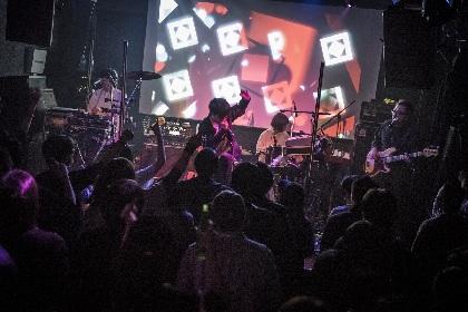 """Crossover Music Creators""を標榜する要注目の4ピース・uchuu, 80KIDZを迎えた主催2マンを観た"