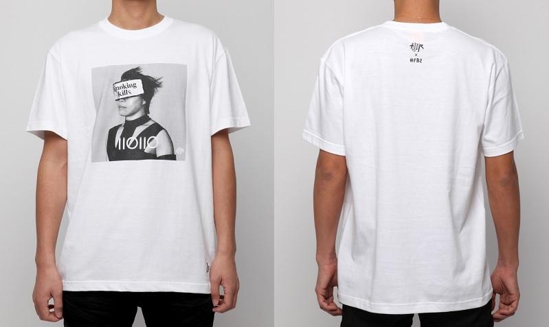"""Smoking kills"" Photo T-shirts ~ver. T.M.R.~"