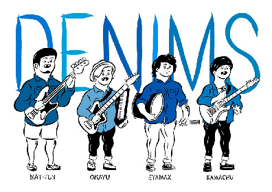 DENIMS「気合い入りまくってる初のフルアルバム」を12月に発売決定