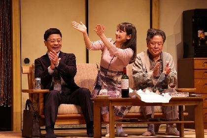 三宅弘城、吉岡里帆らが出演、赤堀雅秋最新作 舞台『白昼夢』初日開幕 舞台写真・コメントが到着