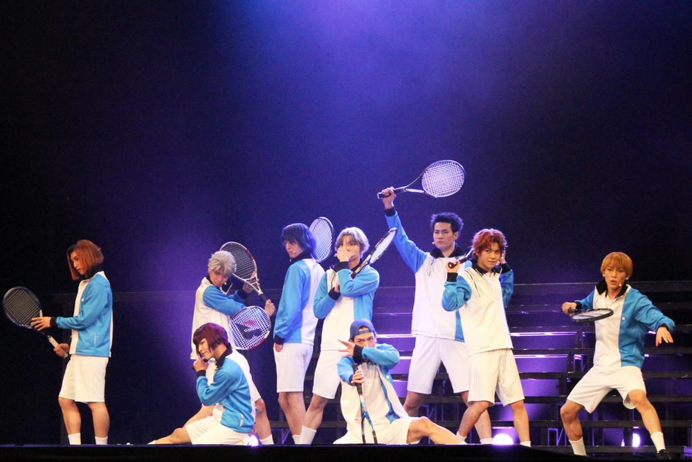 ミュージカル『テニスの王子様』TEAM Live HYOTEI (撮影=松本裕美)