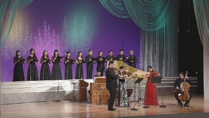 ハルモニア・アンサンブルの美しいコーラスが会場を包み込んだ『ホワイトクリスマス』