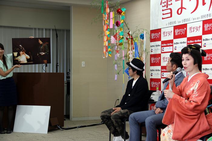 森光子との共演時について語る高畑淳子