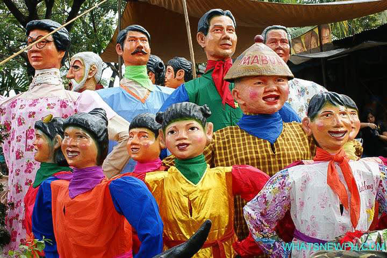 ネオ・アンゴノ・アーティスト・コレクティブ(フィリピン) 《Angono Higantes,Big and Small》 photo credit : photo walk Philippines/whatsnewph.com