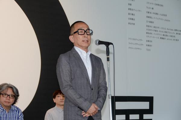 総合ディレクターの佐藤卓氏