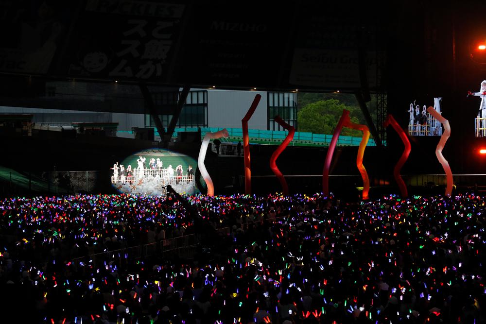 『ひきこもりたちでもフェスがしたい!~世界征服Ⅰ@メットライフドーム~』 2019.6.23@メットライフドーム