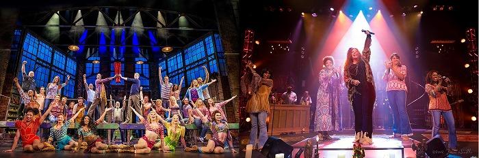 (写真左から)『キンキーブーツ(仮題)』『ジャニス・ジョプリン(仮題)』 (C)BroadwayHD